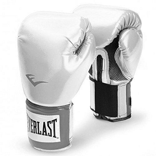 Everlast-Pro-Style-Pu-Pro-Bag-Gloves-Gants-de-boxe-Blanc-10oz-0