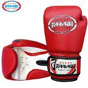 Gants-de-boxe-pour-enfants-juniors-de-boxe-Gants-de-MMA-Gants-de-Sparring-en-cuir-synthtique-4Oz-rouge-0-3