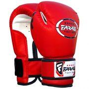 Gants-de-boxe-pour-enfants-juniors-de-boxe-Gants-de-MMA-Gants-de-Sparring-en-cuir-synthtique-4Oz-rouge-0-4
