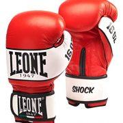 LEONE-1947-SCHOCK-Gants-de-Boxe-Adulte-Unisexe-Rouge-16-oz-0