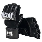 METAL-BOXE-MitainesGants-MMA-Combat-Libre-avec-pouce-0-1