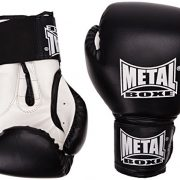 METAL-BOXE-PB480-Gants-de-boxe-Noir-8-oz-0-0