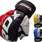 RDX-MMA-Gants-Maya-Hide-Cuir-Entrainement-Sparring-UFC-Art-Martiaux-Sac-De-Frappe-Combat-Kickboxing-0-2