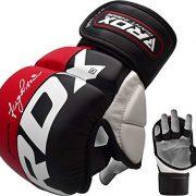 RDX-MMA-Gants-Maya-Hide-Cuir-Entrainement-Sparring-UFC-Art-Martiaux-Sac-De-Frappe-Combat-Kickboxing-0-3