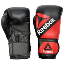 Reebok-Gants-de-Combat-en-Cuir-Gants-dentranement-de-boxe-RougeNoir-12oz-0-2