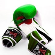 Ringmaster-UK-adulte-gants-de-boxe-en-cuir-synthtique-Vertblanc-Homme-Femme-Green-and-White-0-0