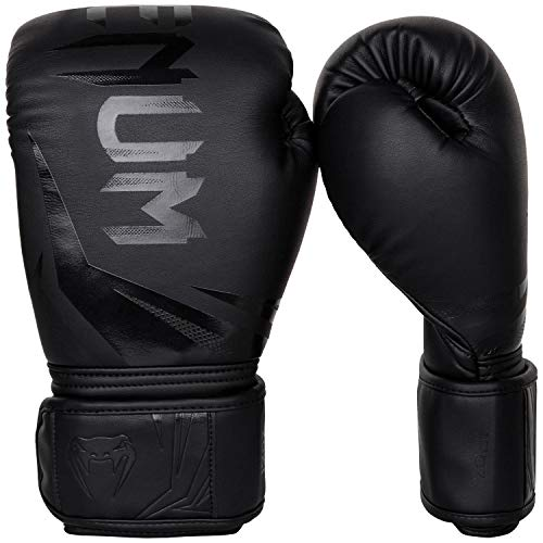 Venum-Challenger-30-Gants-de-Boxe-Mixte-Adulte-Noir-Noir-12-Oz-0-2