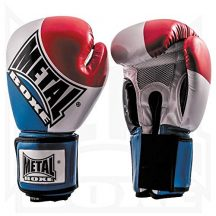 Metal-Boxe-Gants-super-entranement-et-comptition-12-oz-0