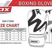 RDX-Gants-de-Boxe-Muay-Tha-Kick-Boxing-Mat-Noir-Convexe-Peau-Cuir-Gant-pour-Sparring-Sac-Frappe-Entranement-Mitaines-Comptition-Combat-Boxing-Gloves-0-0