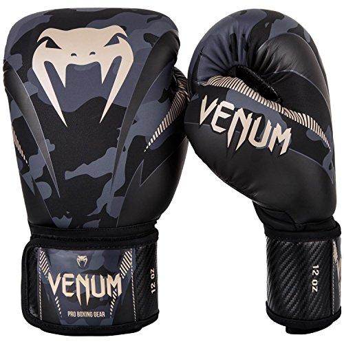 Venum-Impact-Gants-de-Boxe-Muay-Thai-Kick-Boxing-Camouflage-Sable-12-Oz-0