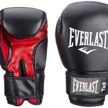 Everlast-Rodney-1803-10-oz-Gants-de-Boxe-entranement-muscles-pectoraux-mixte-adulte-NoirRouge-30-cm-0