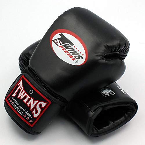 QJSTD-8-10-12-14-Oz-Twins-Gants-Kick-Gants-De-Boxe-en-Cuir-PU-Sanda-Sandbag-Formation-Gants-De-Boxe-Noir-Hommes-Femmes-Guantes-Muay-ThaiBlack-0