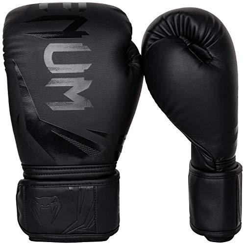 Venum-Challenger-30-Gants-de-Boxe-Mixte-Adulte-Noir-Noir-14-Oz-0