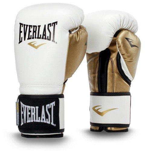 Everlast-Powerlock-Gants-de-boxe-dentranement-en-polyurthane-Article-de-boxe-L-Blancdor-12-OZ-0
