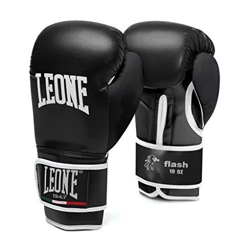LEONE-1947-Flash-Gants-de-Boxe-Adulte-Unisexe-Noir-10-oz-0