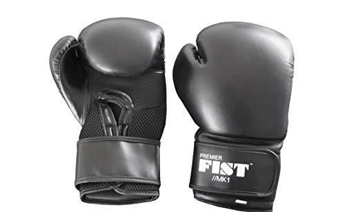 Premier-Fist-Precision-MK1-Gants-dentranement-de-Boxe-en-Cuir-PU-pour-Une-durabilit-et-Un-Confort-durables-M-Noir-0