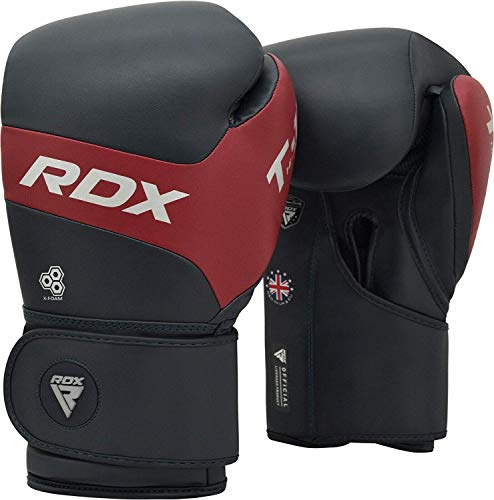 RDX-Gants-de-Boxe-pour-Entranement-et-Muay-Tha-Gants-en-Kalix-Cuir-pour-Sparring-Kickboxing-Le-Combat-Sacs-de-Frappe-Vitesse-Ball-et-Pattes-dours-Combat-Mitaines-Boxing-Gloves-0