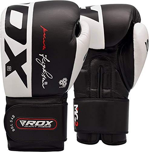 RDX-Gants-de-Boxe-pour-Muay-Tha-et-Dentranement-Gants-en-Vachette-Cuir-pour-Kickboxing-Sparring-Sacs-de-Frappe-Comptition-Combat-Mitaines-Boxing-Gloves-0