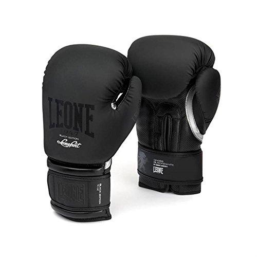 LEONE-1947-GN059-BLACKWHITE-Gants-Boxe-noir-12-oz-0