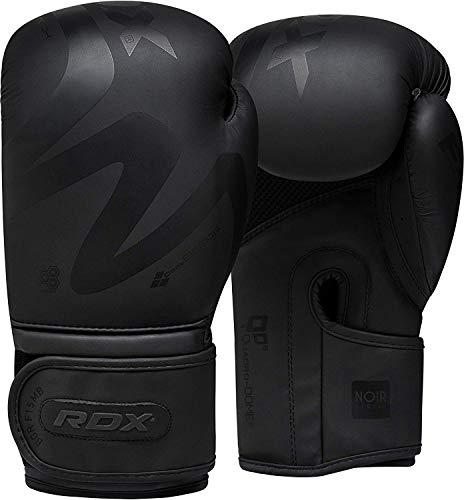 RDX-Gants-de-Boxe-pour-Muay-Tha-et-Dentranement-Gants-en-Convex-Cuir-pour-Sparring-Kickboxing-Sacs-de-Frappe-Comptition-Combat-Mitaines-Boxing-Gloves-0